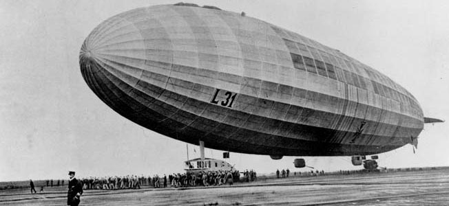 The German zeppelin night raids of WW1 inflicted terror on London and presented stiff challenges for RAF pilots.