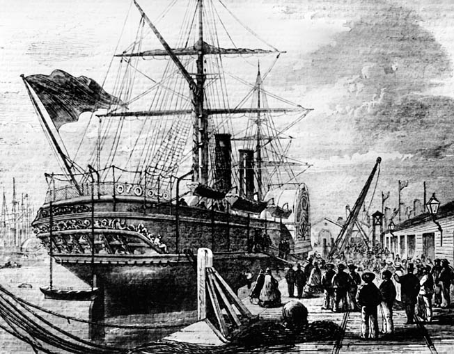 When Confederate ambassadors Mason and Slidell finally arrived at Southampton, England, in February 1862, Queen Victoria refused even to receive them. Cheap Indian cotton obviated the need for continued ties to the South.