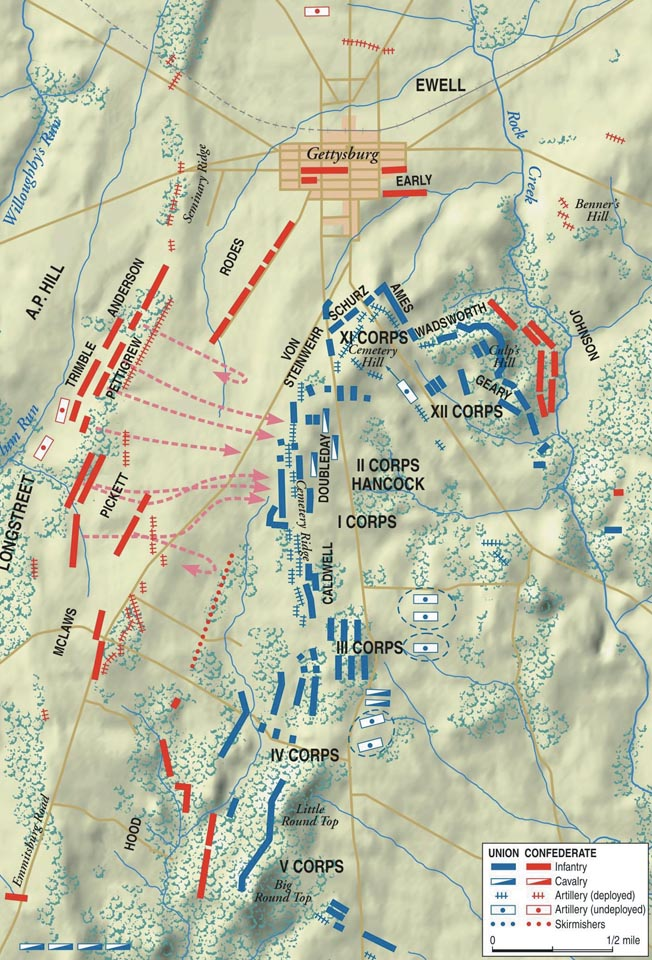 Gettysburg Map