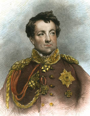 Prussian Chief of Staff Lt. Gen. Count Neithardt von Gneisenau. The chief of staff and Field Marshal Blucher made a formidable command team.