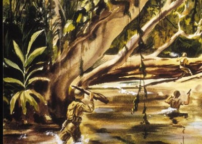 """Four Marines on the """"Green Hell"""" of Guadalcanal"""