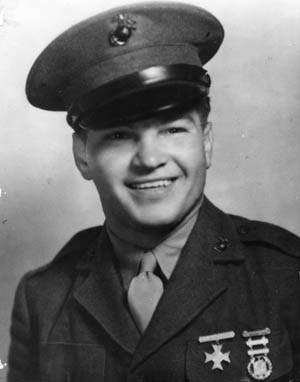 U.S. Marine Pfc. Frank Witek lost his life and received a posthumous Medal of Honor for heroism on Guam.