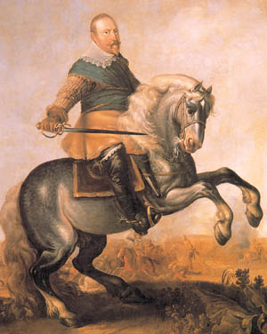 "King Gustavus Adolphus, ""The Lion of the North,"" was a quick learner and master reformer of the military both on and off the battlefield."