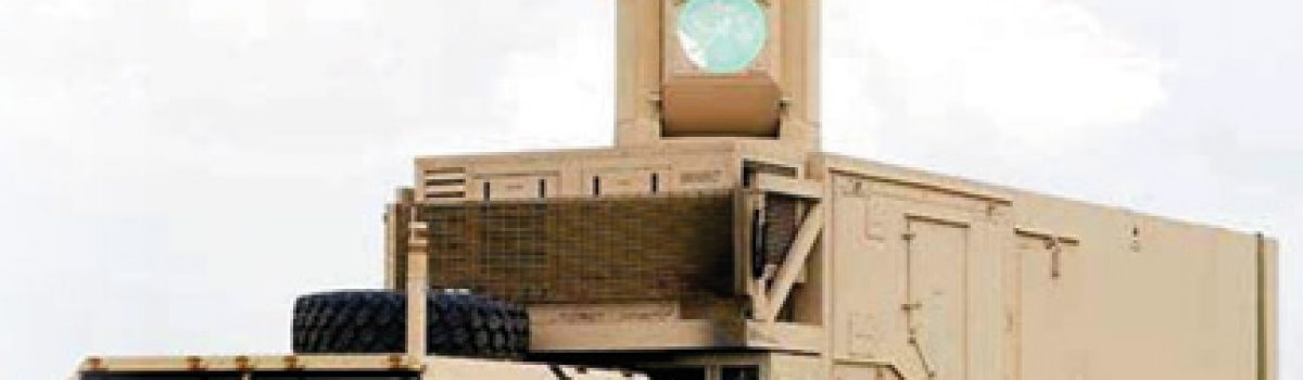 Army's Laser Weapon Operated by XBOX Controller