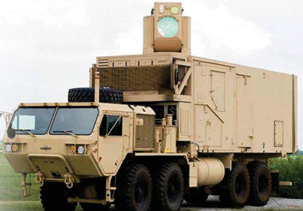Developed by Boeing, the Army's HEL MD 10-kW laser weapon system uses a rather unconventional control system. But the idea isn't as crazy as it sounds.