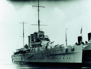 Restricted by Naval Treaties, Britain Turned in the 1920s and 1930s to Cruisers, of Which the HMS Cornwall was the First.