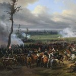 Napoleon Bonaparte at the Battle of Hanau