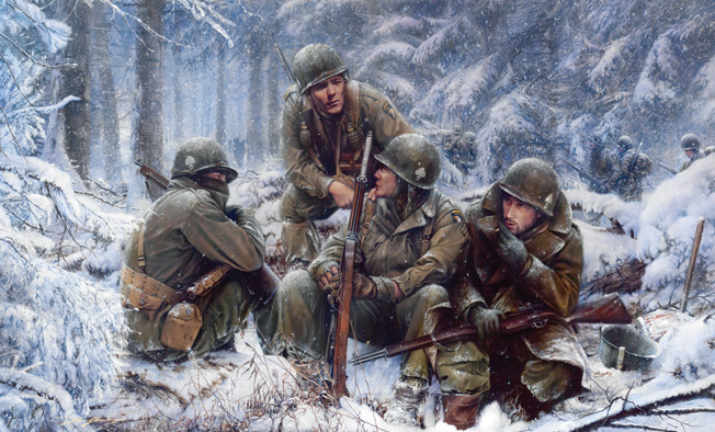 Hang Tough, Bastogne 1944