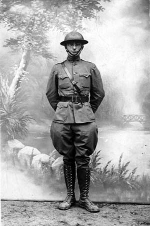 Future U.S. President Harry S. Truman led a National Guard field artillery battery on the Western Front during the Great War.