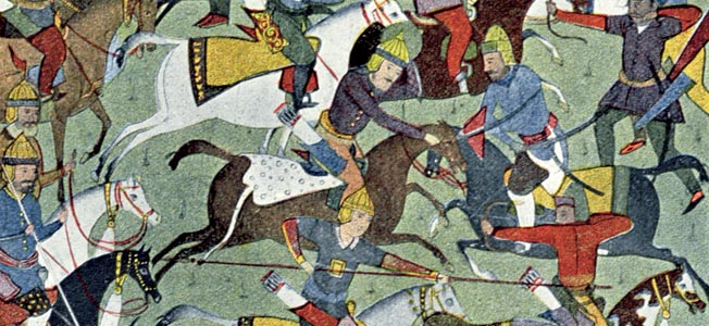 Caliph Harun al-Rashid's two sons carried on a fratricidal power struggle that devastated Baghdad in the ninth century.