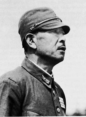 Hatazo Adachi commanded the Japanese 18th Army.