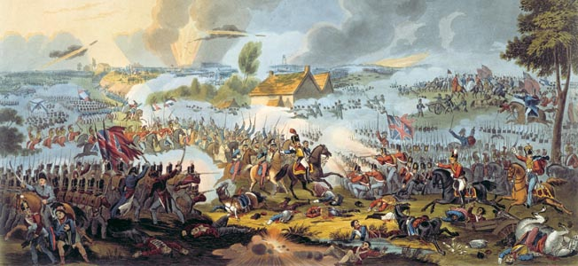 Henry Shrapnel set his fertile mind to explosive shells and helped win the Battle of Waterloo.