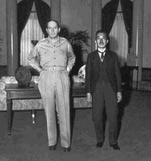 """In his memoirs, MacArthur called Hirohito the """"First Gentleman"""" of Japan, because the emperor had offered himself up for trial, which many in the West at that time believed to be both fitting and proper."""