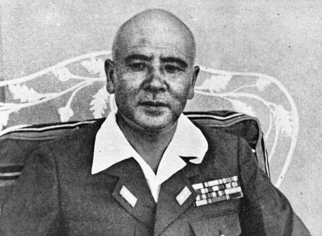General Masaharu Homma of the Japanese 14th Army, waged a bitter campaign for control of the Philippines in 1942.