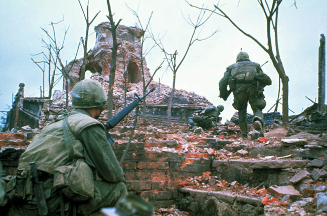 As South Vietnamese relaxed during the Tet holiday in 1968, North Vietnamese and Vietcong launch the most audacious offensive of the Vietnam War.