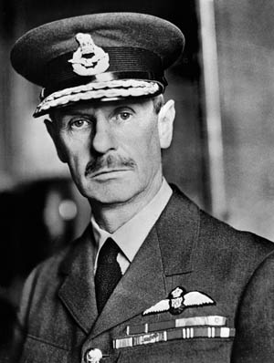 Hugh Dowding, beleaguered commander-in-chief of Fighter Command.