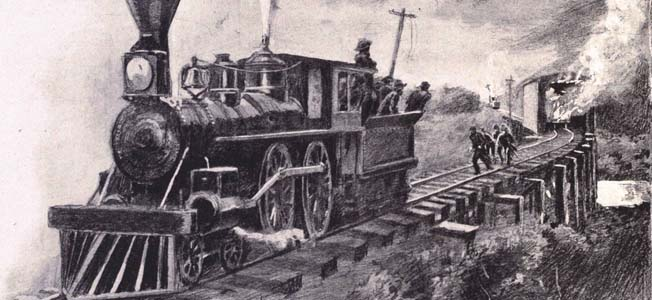When James Andrews' Federal raiders stole his train, a determined William Fuller took action; the Great Locomotive Chase had begun.