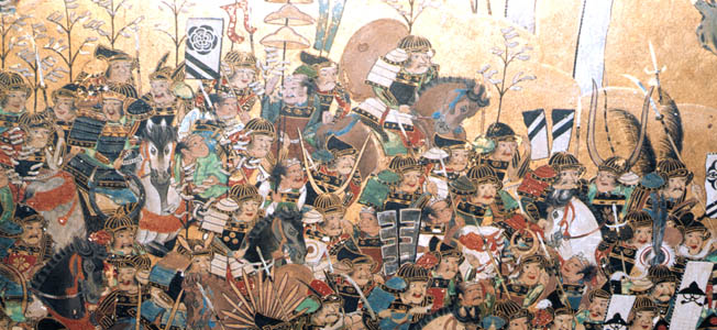 Samurai were the elite warriors of Japan's ruling class, and the foot soldier was generally of peasant stock; however, their status subtlety changed over the course of the 16th century.