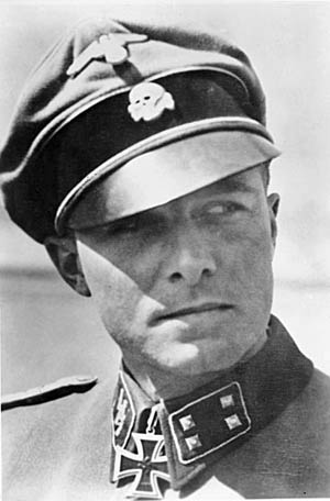 SS Lt. Col. Jochen Peiper led his surrounded and depleted Kampfgruppe back to German lines during the Battle of the Bulge.