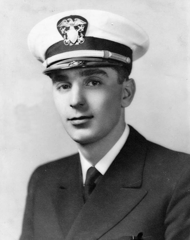 Ensign Joseph Bale was a U.S. Navy officer charged with delivering Marines to Iwo Jima aboard his LCVP.