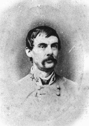 Confederate Brig. Gen. John Echols, defended at Cold Harbor.