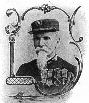 For fighting against Confederate forces along the James River, John Freeman Mackie was the first Marine Corps' first Medal of Honor Recipient.