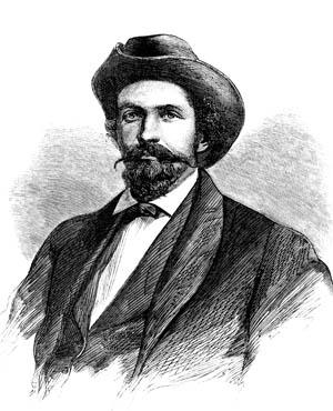 An idealized sketch of John Hunt Morgan.