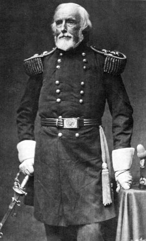 When Union general Joseph Mansfield fell at Antietam, he became the oldest general on either side to be killed in combat.