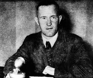 Joyce was known as Lord Haw-Haw when broad- casting from Nazi Germany.