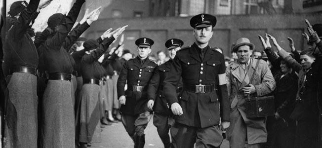 American-born Nazi radio propagandist William Joyce amused, and also terrorized, British listeners.