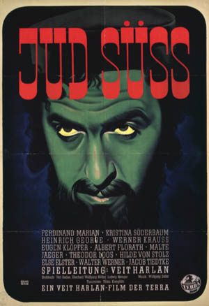 Jud Suss was a despicable propaganda film that hastened the Nazi genocide against European Jewry.