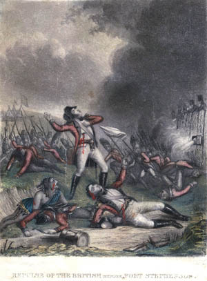 British forces suffered even greater losses in a failed attempt to capture Fort Stephenson two months later.