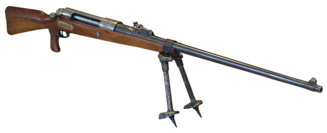 The German Tank Abwehr Gewehr, or T Rifle, weighed 37 pounds and required a two-man crew to carry it.