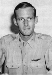 Colonel Robert Strauss of the 312th Bombardment Group.