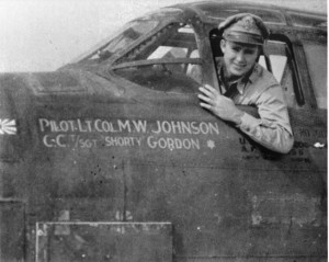 and Lieutenant Colonel Milton W. Johnson of the 417th Bombardment Group