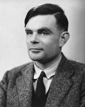 Alan Turing, a theoretical and mathematical genius, led the Allied effort at Bletchley Park to decode and distribute intercepted German communications transmitted via the Enigma encoding machine.