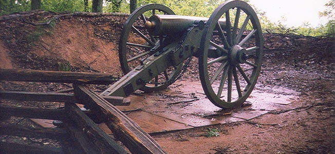 Kennesaw Mountain National Battlefield Park's wilderness-like landscape is a silent reminder of the hardships faced by both sides in summer 1864.