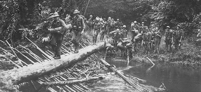 World War II's Kokoda Track campaign consisted of a series of battles fought between July and November 1942.