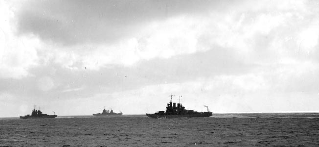 The light cruiser Helena was lost in the inconclusive 1943 sea battle.