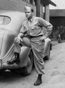 Charlie Lefchik in 1943.