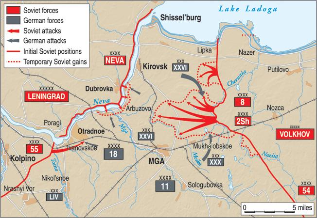 Leningrad Offensive MAP
