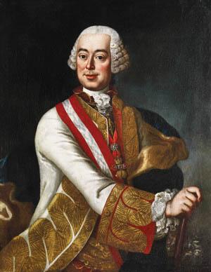 Austrian Field Marshal Leopold Graf von Daun.