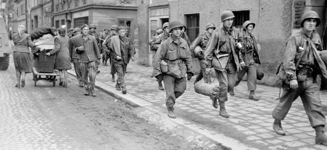 Leon Tulper, a Jewish American soldier in the 65th Infantry, recalls the final days of the war in Europe and the liberation of concentration camps.