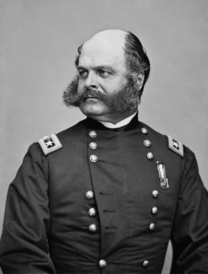 Ambrose Burnside knew better than anyone ele that he was ill-suited to command an entire army into combat.