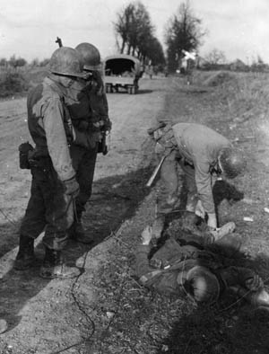 In their first combat experience, a handful of American soldiers accomplished its objective and held against powerful German counter-attacks.