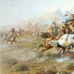 "George A. Custer's ""Last Stand"" at the Battle of Little Bighorn"