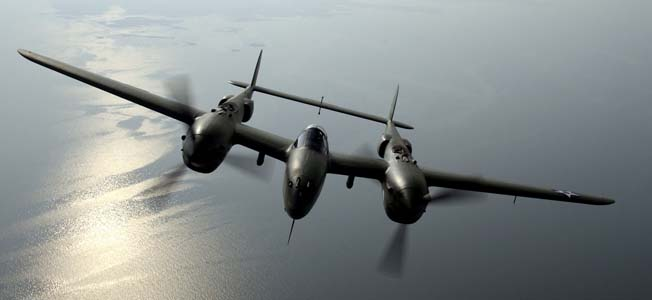 The most astonishing looking common aircraft of World War II was arguably the twin-tailed Lockheed P-38 Lightning.