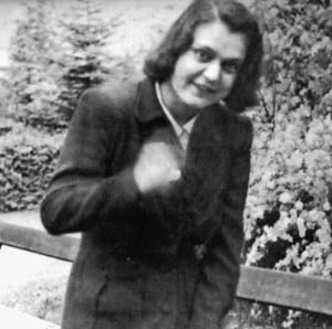 Jack's girlfriend Doris, who reunited with him while he was recovering in Würzburg and who barely escaped the city's bombing. She met a tragic end after the war.