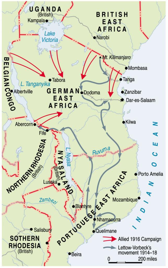 M-Africa WW I MAP Aug06
