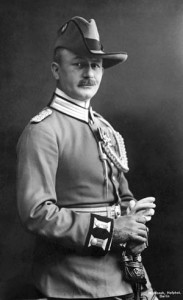 Prussian-born Paul von Lettow-Vorbeck (1870-1964). Photographed at Berlin, c1919.